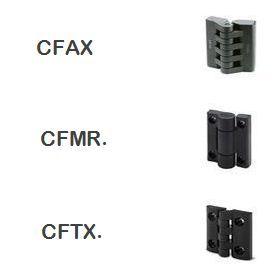 BISAGRAS CFMR., CFTX., CFAX