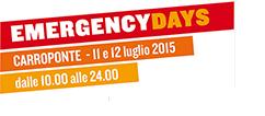 EMERGENCY DAYS MILANO
