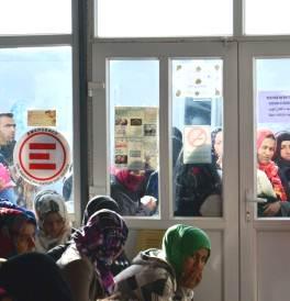Nella clinica di EMERGENCY nel campo per sfollati iracheni ad Arbat, Iraq