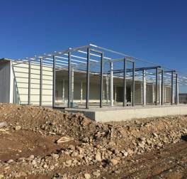 I lavori di costruzione del nuovo Centro sanitario di EMERGENCY in Iraq