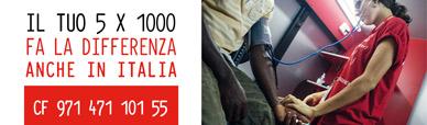 Il tuo cinque per mille fa la differenza. Anche in Italia. Codice fiscale 971 471 101 55