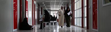 All'interno della nostra clinica nel campo di Ashti in Iraq