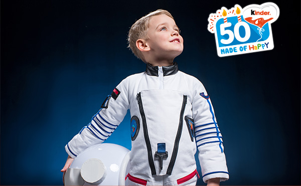 Kinder 50 made of happy