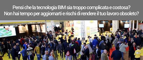 Pensi che la tecnologia BIM sia troppo complicata e costosa?