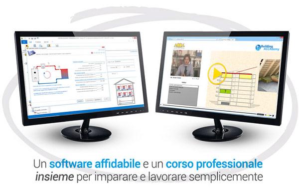Un software affidabile e un corso professionale