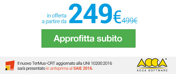 in offerta a partire da 249 euro