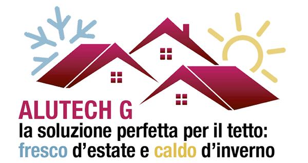 Alutech G la soluzione perfetta per il tetto: fresco d'estate e caldo d'inverno