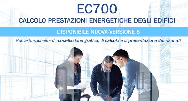 EC700 Calcolo prestazioni energetiche degli edifici