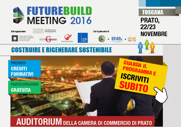 FutureBuild Meeting 2016 - Costruire e rigenerare sostenibile