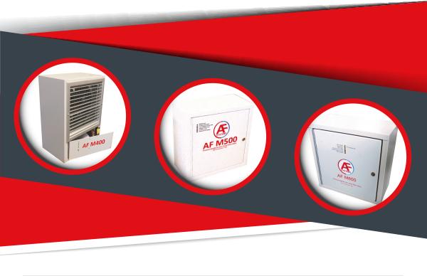 I pressurizzatori per locali filtro-fumo AF Systems