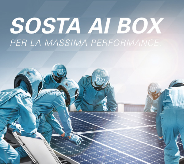 SOSTA AI BOX PER LA MASSIMA PERFORMANCE