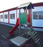 A Corridonia i bambini hanno una nuova scuola dopo il terremoto