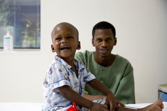 Mamadou e suo padre
