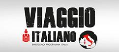 Illustrazione spettacolo teatrale di EMERGENCY Viaggio Italiano