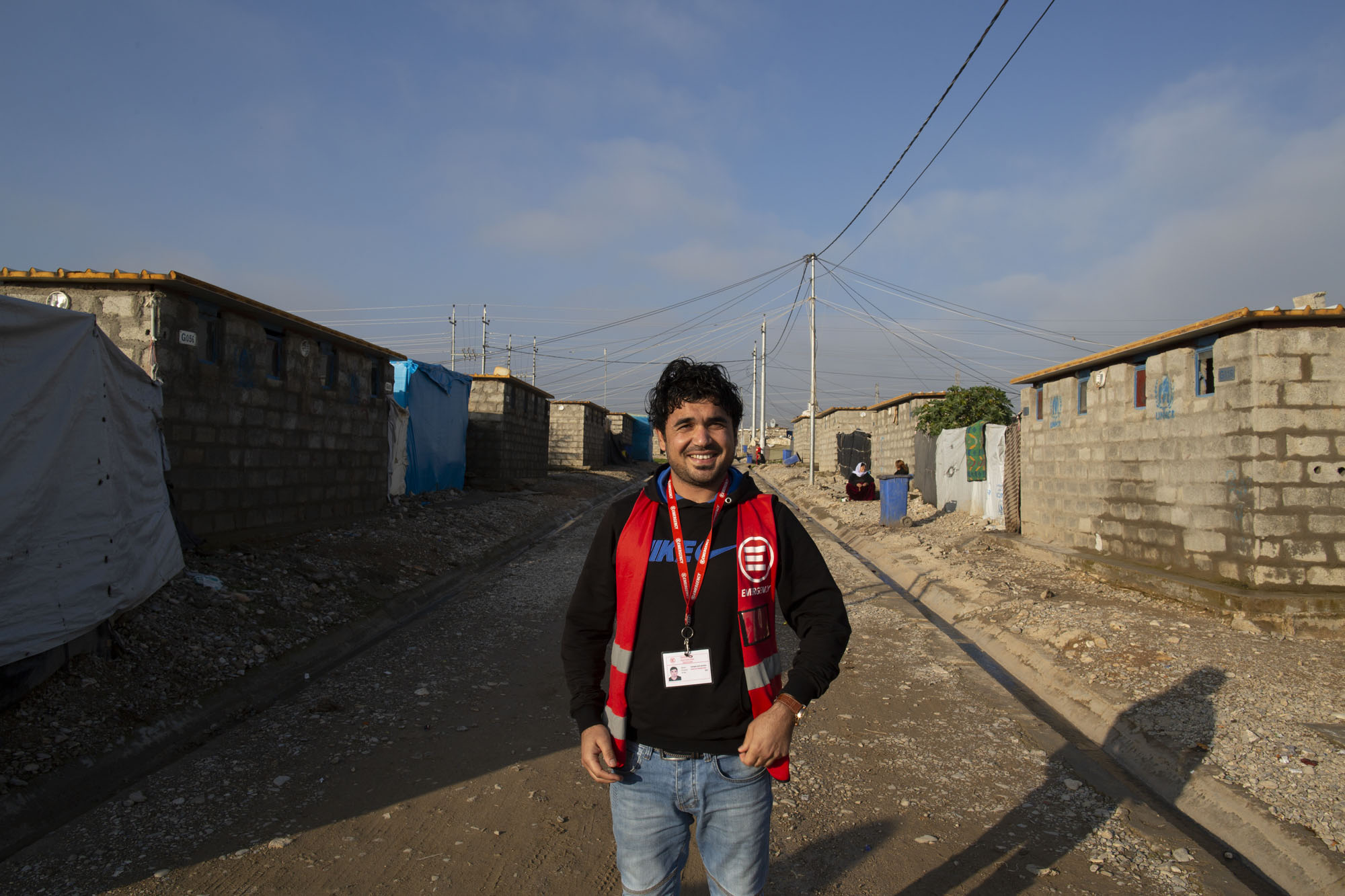 Farhan nel campo di Ashti