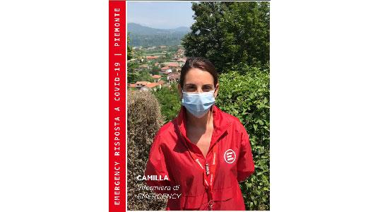 Camilla, del Team Accoglienza di EMERGENCY