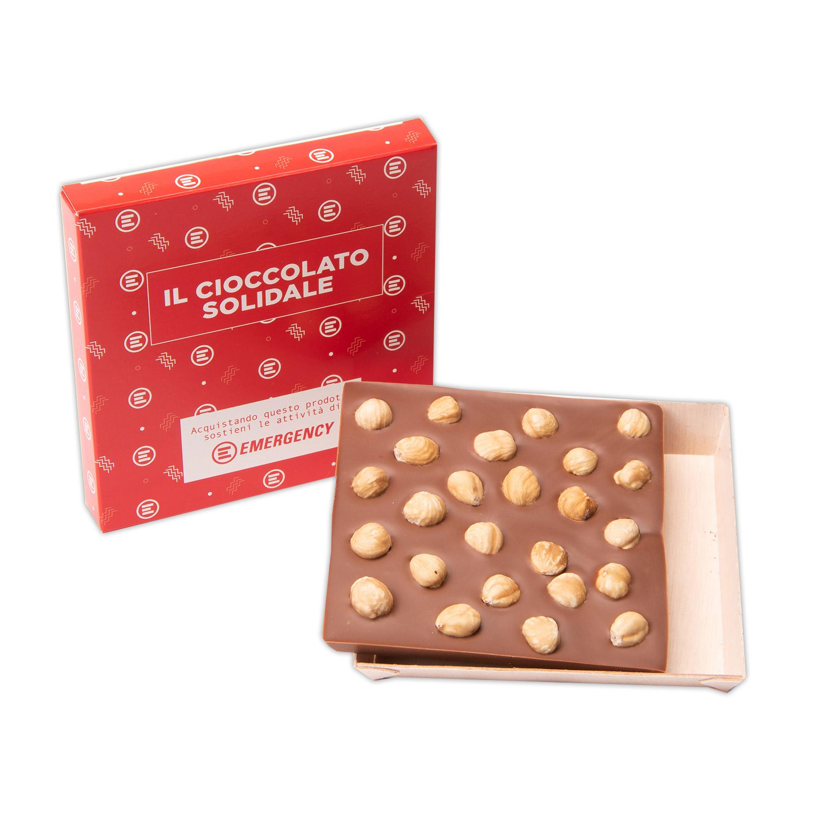 Tavoletta Cioccolato al Latte e Nocciole Tostate
