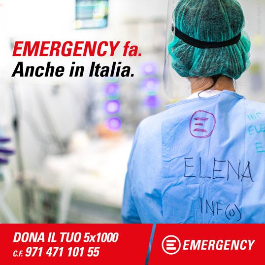 EMERGENCY fa. Anche in Italia.