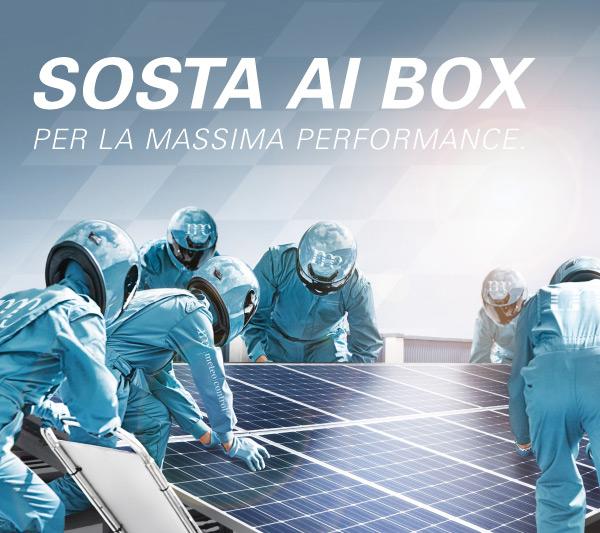 SOSTA AI BOX PER LA MASSIMA PERFORMANCE